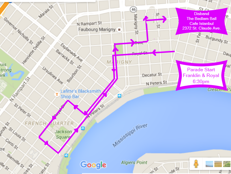krewedelusion episode 7 parade route 2016_1_23